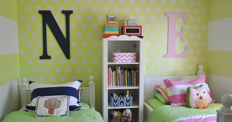 23 dormitorios compartidos para chicos y chicas infantil decora - Chambre fille et garcon ...