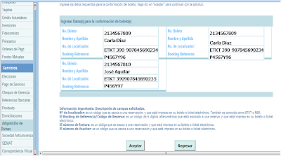 Ingreso Booking References y Número de localizador
