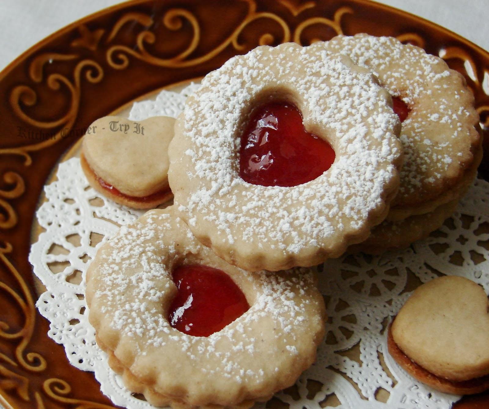 Linzer Cookies~ Baking Partners Challenge