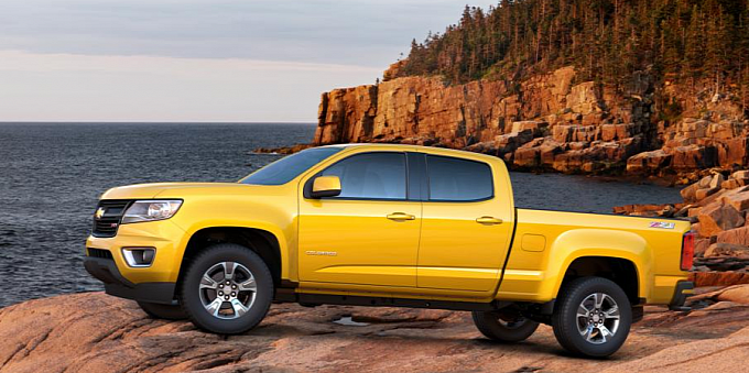2015 Chevrolet Colorado Will Offer 10 Color Options