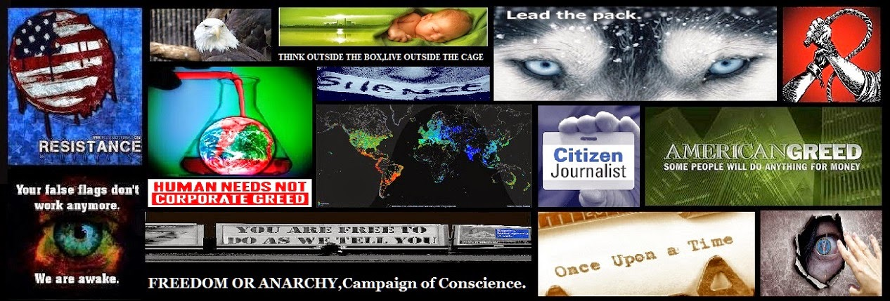 FREEDOM OR ANARCHY,Campaign of Conscience