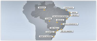 ciudades brasil 2014