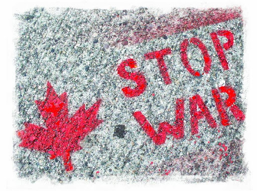 CLICK ON THE STOP WAR SIGN