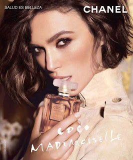 Keira Knightley for Chanel Coco Mademoiselle Fragrance