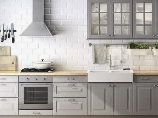 Projekt kuchni  wizualizacje  Projektowanie wnętrz  forum muratordom pl # Kuchnia Ikea Bobdyn