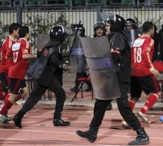 Egypt soccer violence kills 74