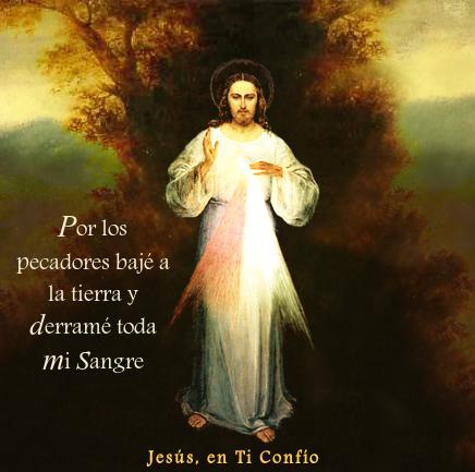 jesus con mensaje parado en frente de un arbol