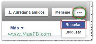 Cómo denunciar un perfil en Facebook - MasFB