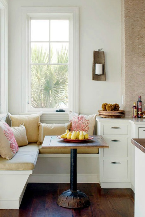 Stylish Kitchen Banquettes - Cozy Little House