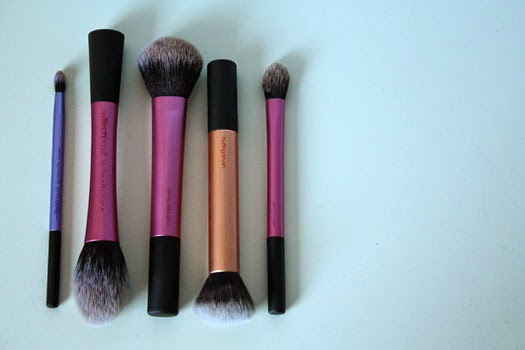 My Top 5 Real Techniques Brushes