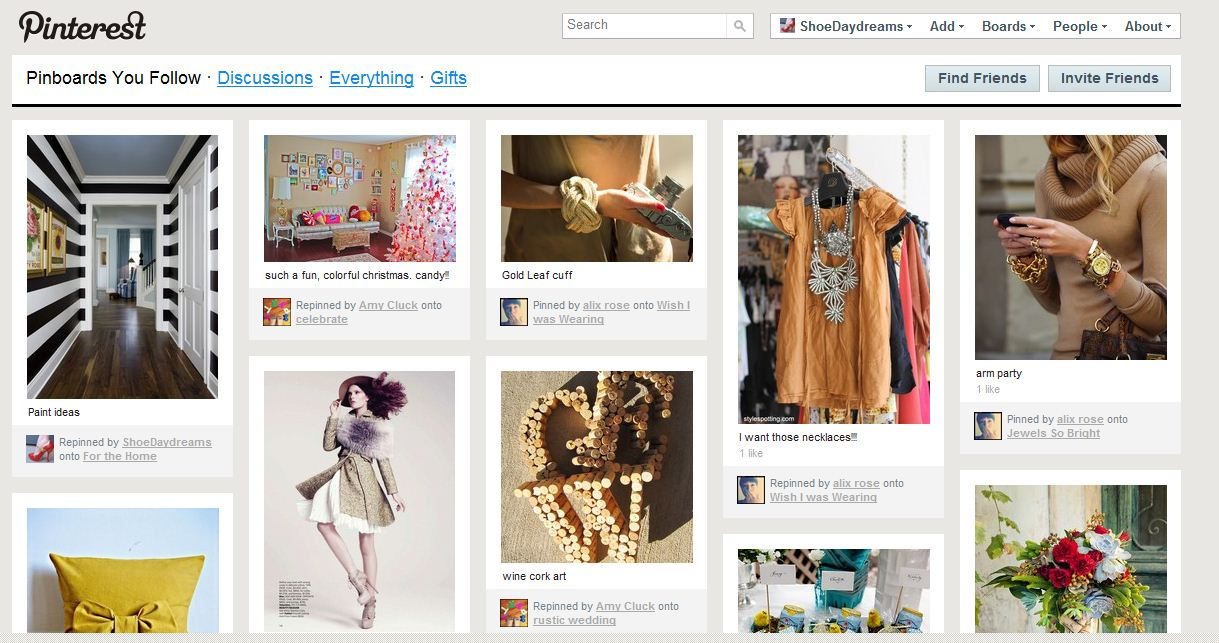 image sites like weheartit. Sites like We Heart It, etc., are not my favorites mainly because it seems