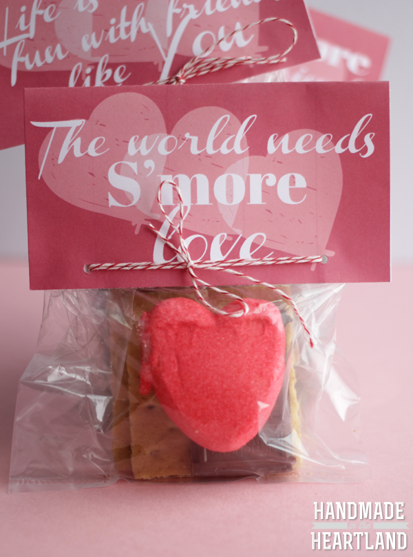S'more Valentine Free Printable