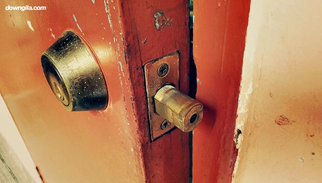 pintu downgila kolej kediaman kelima