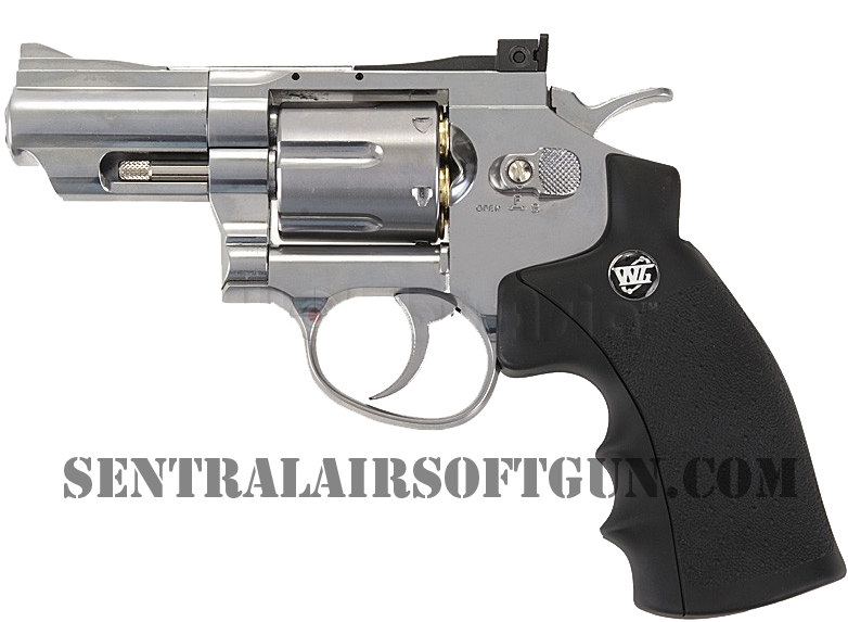 Jual Airsoft REvolver Wingun 4.5 mm