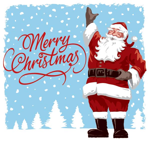 Classic Santa Claus Image