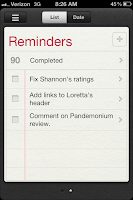 iPhone Reminders