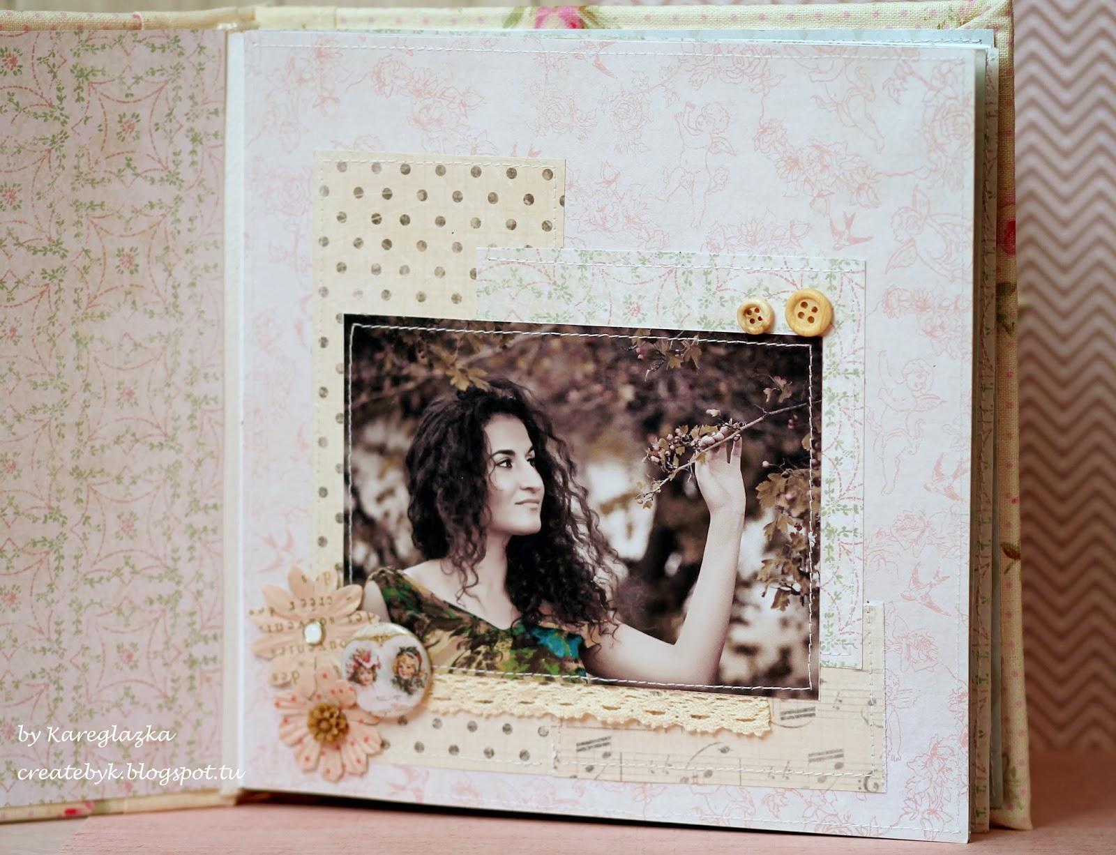 шебби-альбом скрапбукинг