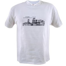 The Wrighter cityscape Tee