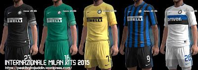 PES 2013 Internazionale Milan kits 2015-2016 by Syirojuddin