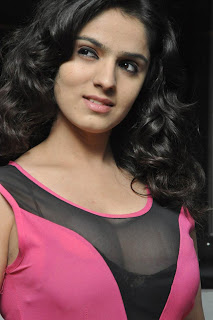 12 Sidhika Sharma Transparent Low KneckTop