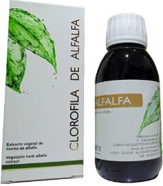 Clorofila de alfalfa