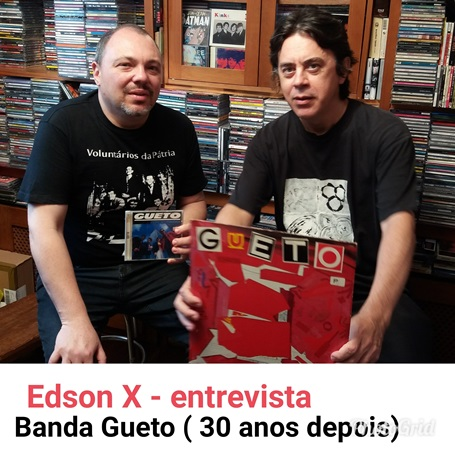 Edson X (baterista) - Entrevista
