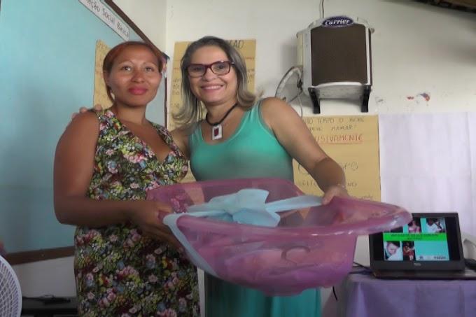 CRAS de São João do Sóter realiza distribuição de Kits para mães