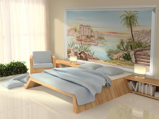 tete de lit décor antique