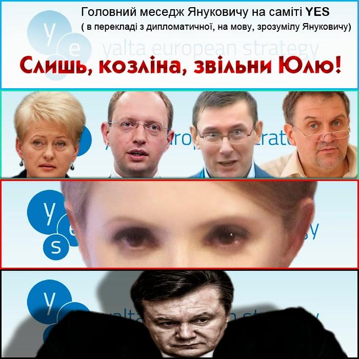 """Янукович: Вопрос Тимошенко """"очень сложный"""", но было бы проще, если бы она ходила в суд - Цензор.НЕТ 6160"""