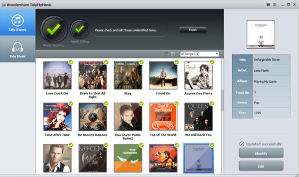 Wondershare TidyMyMusic v1.0.1.1 Full İndir
