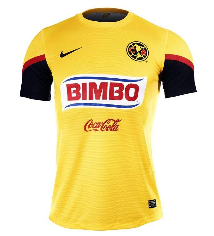 nueva playera del América 2012 - 2013