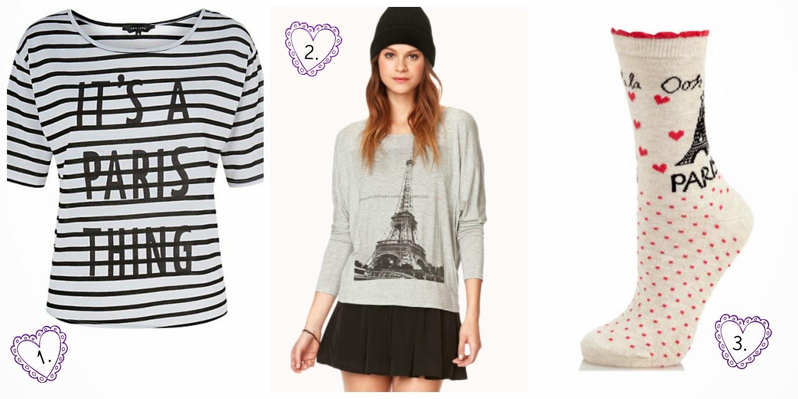 Parisian Wishlist New Look, Forever 21 & River Island