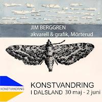 Konstvandring i Dalsland                                   30 maj - 2 juni 2019