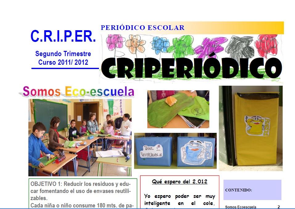 CPR CRIPER Criperiódico 2º Trimestre Curso 2011-2012