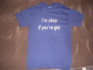 BUY NOW: I&#39;m Okay If You&#39;re Gay T-Shirts