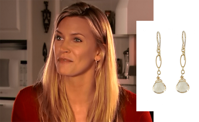 Natasha Henstridge earrings by Peggy Li Creations
