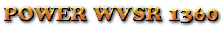 Click on logo to listen to Power WVSR 1360 Internet Radio Station And Visit The  Webpage.