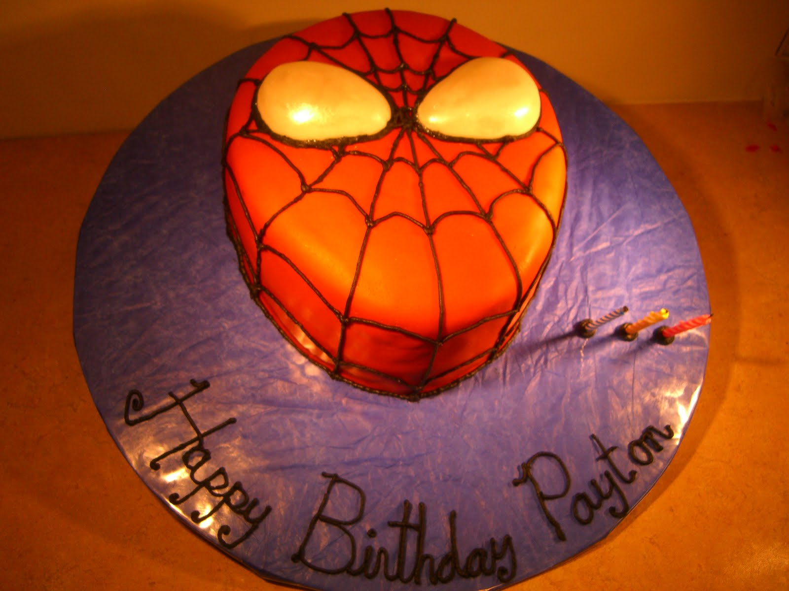 spiderman template for cake - spiderman cake
