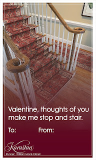 Karastan Carpet Valentines - Stop and Stair