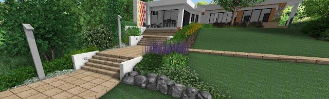 proiect arhitect peisagist alexandru gheorghe gradina 3d randare proiectare gradini design