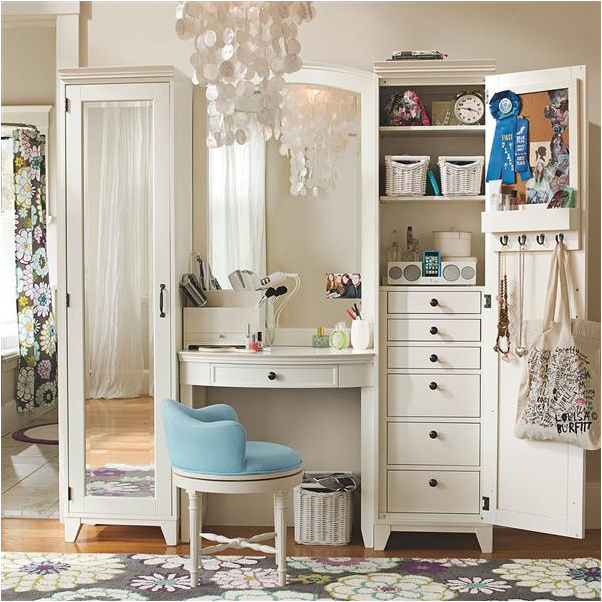 Teen girl storage ideas room design ideas for Teen bedroom storage
