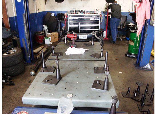 fault running gear workshop phaeton