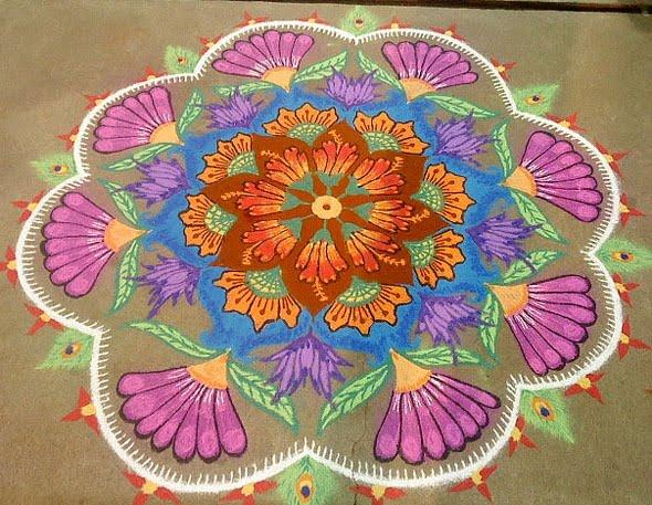 {* Best } Rangoli Designs For Diwali Images, Photos ...
