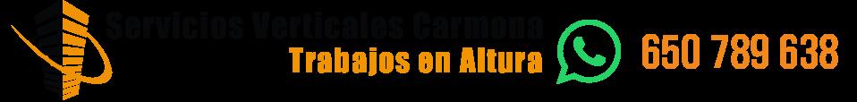 TRABAJOS VERTICALES EN SEVILLA - 650 789 638 - Servicios Verticales Carmona