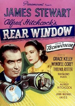 Burokas design alfred hitchcock 39 s rear window review 1954 for 1954 rear window
