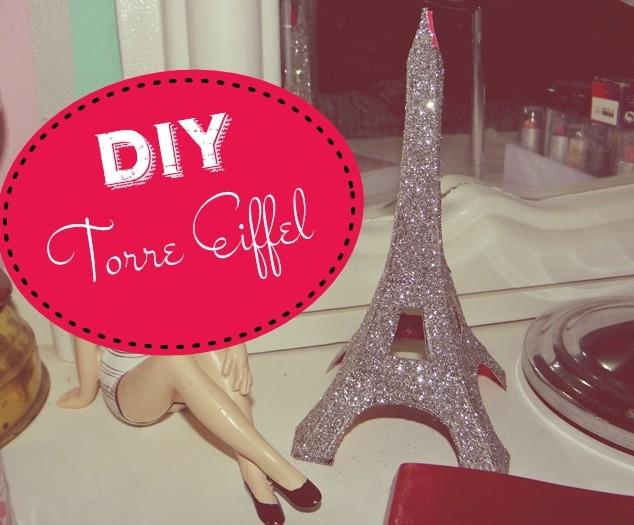 decoracao banheiro diy:Meu Palácio de 64m²: DIY – Faça você mesmo sua Torre Eiffel