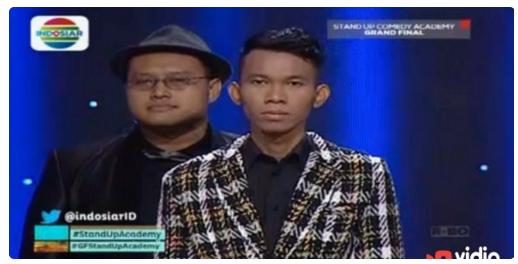 Juara dan Pemenang Stand Up Comedy Academy Tgl 13 November 2015