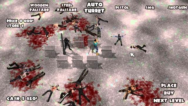 Yet Another Zombie Defense PC Games Gameplay