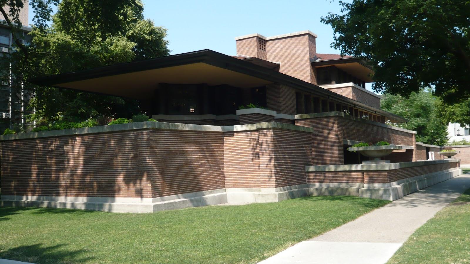 La villa la plus caractéristique de ce style est la robbie house dans la banlieue sud de chicago