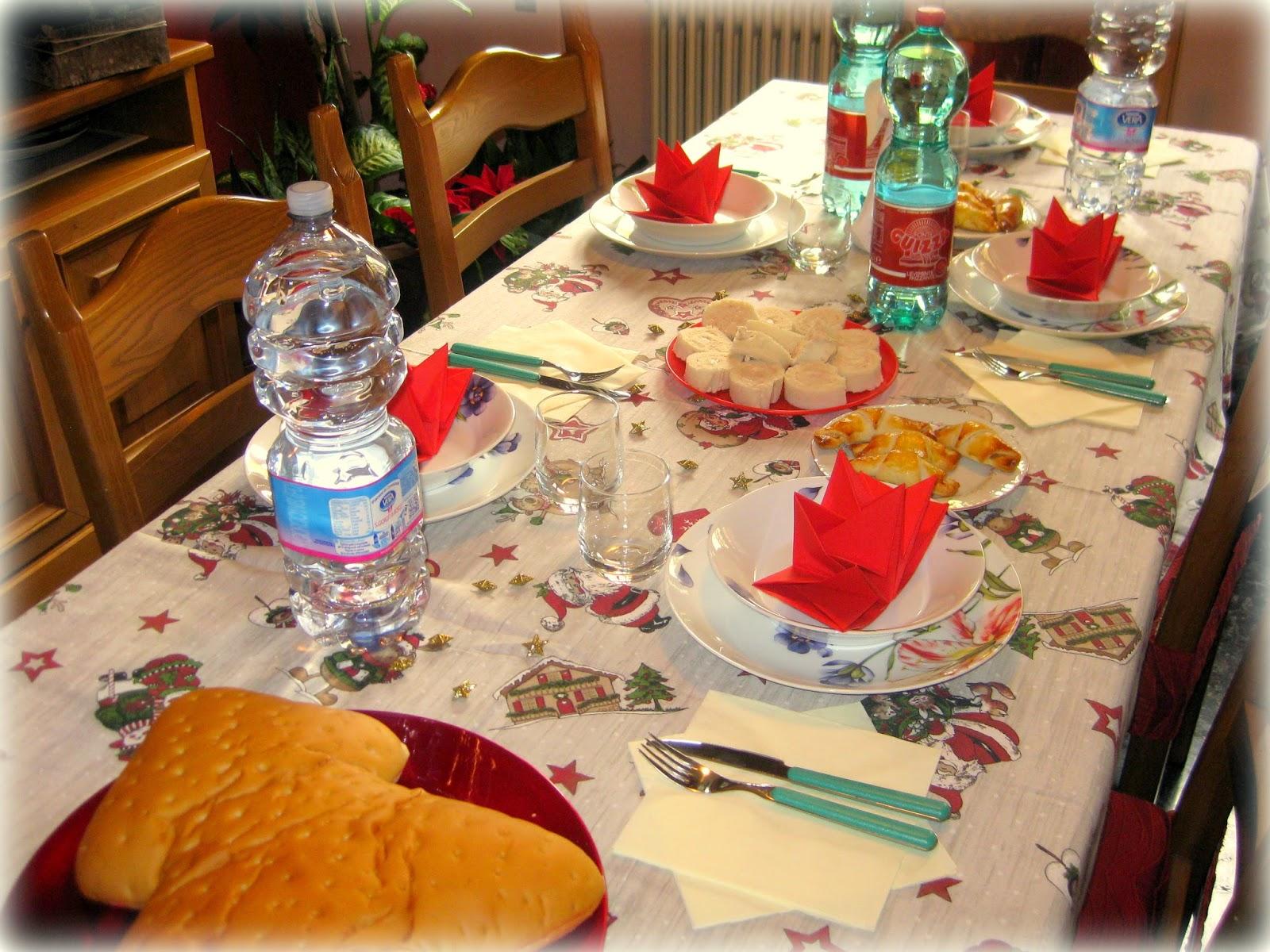 La mia tavola di natale - Addobbi natalizi sulla tavola ...